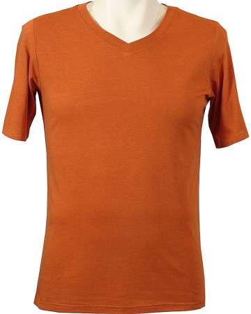 1010-BJY Men's V-Neck Bamboo Tee