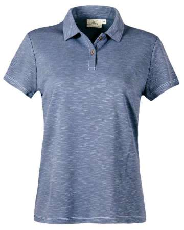 made in usa 159-SPK Ladies' Slub Polo