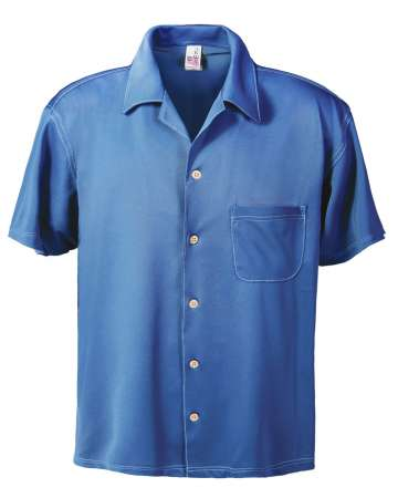 1604-AQD Men's Dry Wicking Camp Shirt