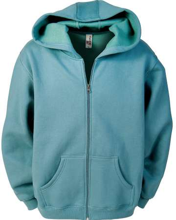 1746-CVC Men's Full Zip Fleece Hoodie