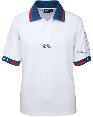 2332-PK Men's Patriotic Tactical Polo