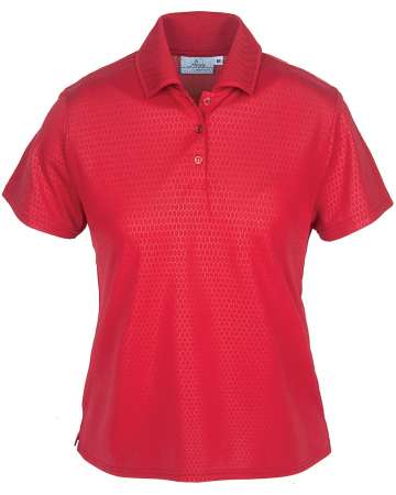 265-EMB Embossed Ladies' Polo