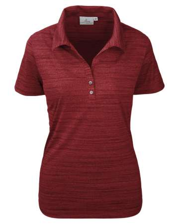 Tiger Stripe Jersey Ladies' Y-Placket Polo