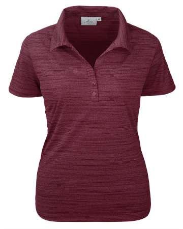 380-TSJ Tiger Stripe Jersey Ladies' Y-Placket Polo