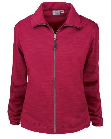 Made in USA 645-TSF Ladies' Full Zip Jacket Tiger Stripe Fleece