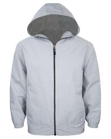 9306-WBK Men's Full Zip Wind Jacket