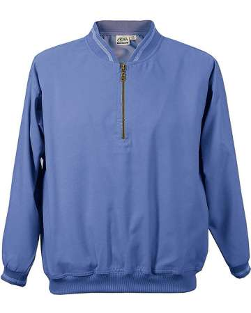 made in usa Microfiber Windshirt 1/4 zip