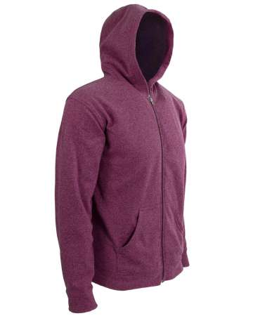 American Made Men's Hooded Full-Zip Jacket