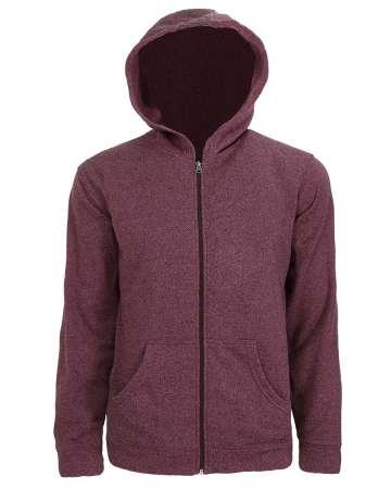 9717-PKF Men's Hooded Full-Zip Jacket