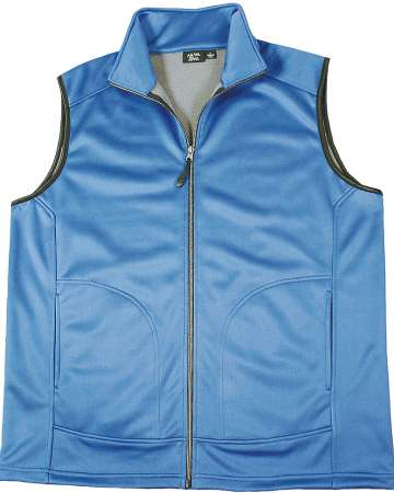 9797-SSF Mens Full Zip Soft Shell Vest