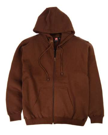 1745-CVC Full Zip Hooded Sweatshirt Imported