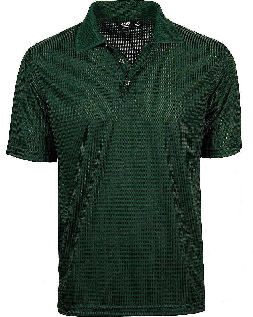 1368-DNC Men's Polo Drop Needle Check