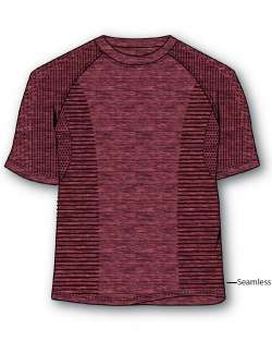 Made in USA Men's Body Mapping Tee Shirt