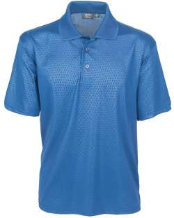 1365-EMB Embossed Men's Polo