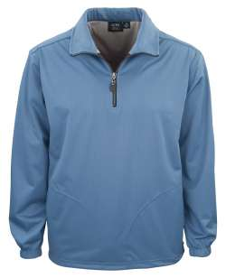 1419-BDJ Men's 1/4 Zip Windshirt with Pocket