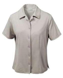368-AQD Ladies' Dry Wicking Camp Shirt