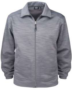 Men's Full Zip Jacket Tiger Stripe Fleece wholesale corporate clothing usa