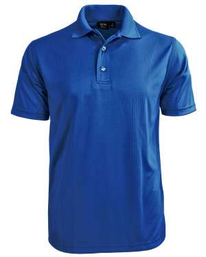 Made in USA Men's Body Mapping Polo closeup