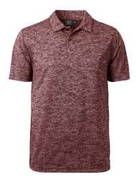 1308-HJK Men's Honeycomb Jacquard Polo