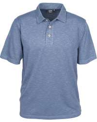 1359-SPK Men's Slub Polo