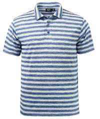 1382-OBS Men's Ombre Stripe Polo