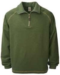 1413-SBT Men's 1/4 Zip Raglan Pullover