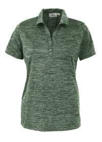 308-HJK Women's Honeycomb Jacquard Polo