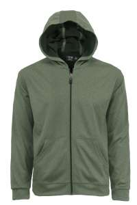 9738-BDI Men's Full Zip Hooded Jacket