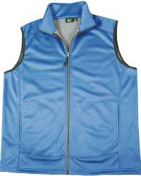 9797-SSF Mens Full Zip Soft Shell Vest (Closeout)