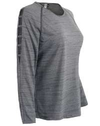 T-2003 Aflex Women's Long Sleeve with Open Shoulder Top