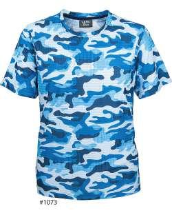 1073-SPP Men's Camouflage Print Tee