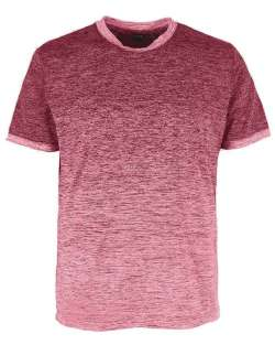Made in USA Custom T-Shirts 1081-OBJ Men's Ombre Tee