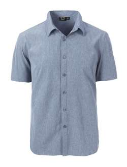 1612-CBS Men's S/S Dress Shirt