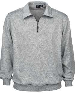 1744-SWT Men's 1/4 Zip Sweater