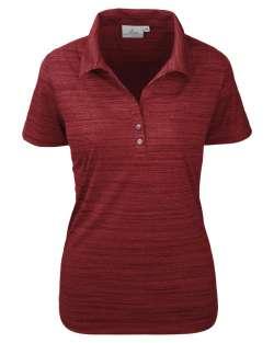 Tiger Stripe Jersey Ladies' Y-Placket Polo
