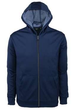 9737-BDI Men's Full Zip Hooded Jacket
