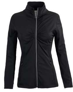J-4001 Aflex Women's Full Zip Jacket with Mesh Panels on Arms and Back