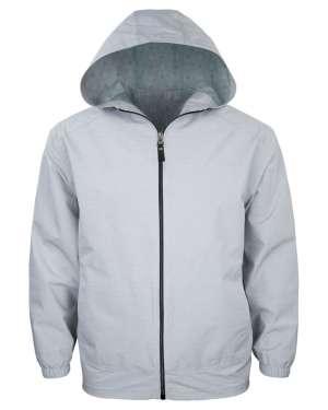 made in usa 9306-WBK Men's Full Zip Wind Jacket