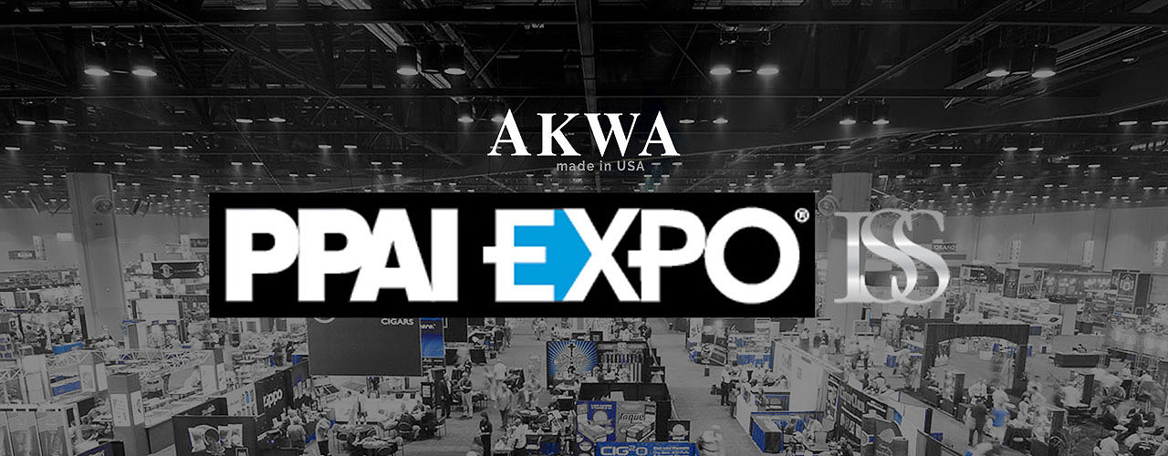 PPAI EXPO wholesale tradeshow AKWA is leader in made-in-usa apparel
