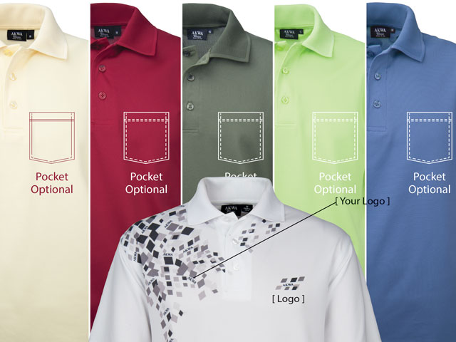 akwa provides custom polo design