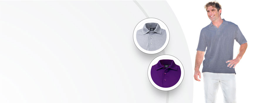 American Made Polo Proudly Made in USA Aqua-Dry Pique Moisture Wicking Polo