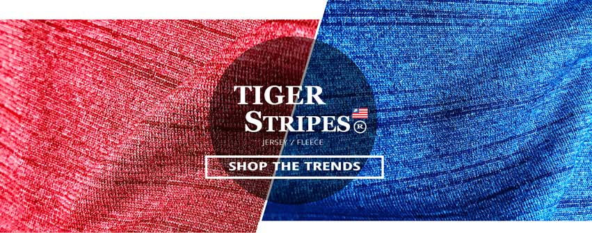 Tiger Stripes Fashion Polo American Made Proudly Made in USA