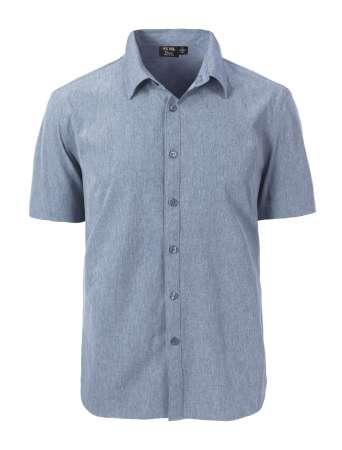 1612-CBS Men's S/S Dress Shirt