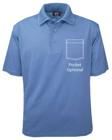 made in usa moisture wicking polo