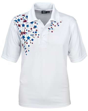Patriotic Polo Made in USA Wholesale Polo Shirt