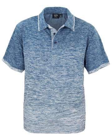 1381-OBJ Men's Ombre Polo