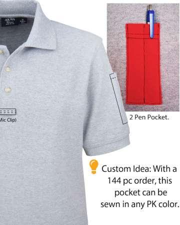 2311-PK Cotton Pique Tactical Polo