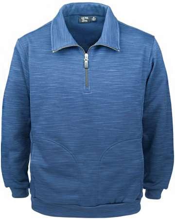 9441-TSF Men's 1/4 Zip Jacket Tiger Stripe Fleece