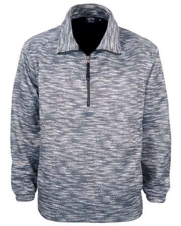 MADE IN USA SWEATER 9487-SWP MEN'S 1/4 ZIP PULLOVER