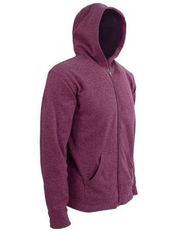 American Made Men's Hooded Full-Zip Jacket